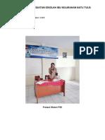 Dokumentasi 19 Nov 2018 Kegiatan Sekolah Ibu Kelurahan Batu Tulis