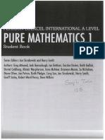 Pearson Edexcel international a levels Mathematics Pure 1 TextBook