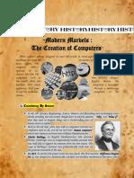 history of computer transcript
