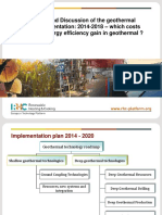 E Geothermal Roadmap Implementation 2014 2018