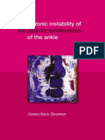 A Biomechanical Evaluation of the Tibiofibular and Tibiotalar Ligaments of the Ankle