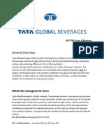 Tata global bevrages ltd