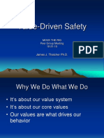 Value-Driven Safety