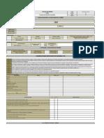 REG-VOL-GLO-01-16 Formato de Gestión de Cambios