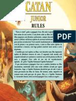 Catan Junior Rules  Pt-Br