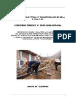 Servicio de Agua Potable y Alcantarillado de Lima s e d a p a l