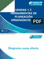 1 7 Herramientas de Planeaci-n Organizacional