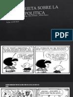 Historieta Sobre La Politica