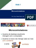 01 Aula 1 - Conceitos Fundamentais Dos Sistemas de Computação Microcontrolados