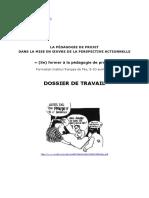 PUREN 2014b Dossier Travail Pédagogie Projet
