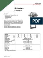 Kammer Actuators P2,P3,P4,P5