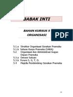 5.1 a. Struktur Organisasi
