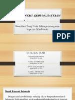 Kontribusi Bung Hatta Dalam Pembangunan Koperasi Di Indonesia[1]