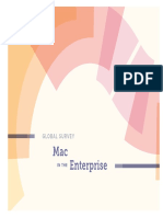 Global Survey - Mac in the Enterprise