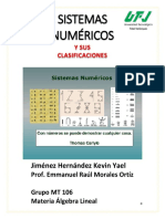 Sistema Numérico - Jiménez Hernández Kevin Yael