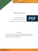 Actividad 7. Liquidación Prestaciones Sociales