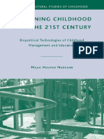 (Critical Cultural Studies of Childhood) Majia Holmer Nadesan-Governing Childhood Into the 21st Century_ Biopolitical Technologies of Childhood Management and Education-Palgrave Macmillan (2010).pdf