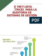 DIRECTRICES PARA LAS AUDITORIAS DE SISTEMAS DE GESTION