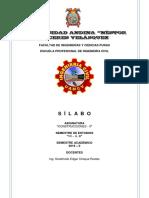 Silab. Construcciones II (2019-II)