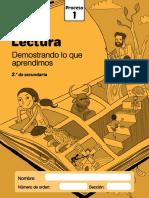 Evaluación de Proceso Lectura 2016