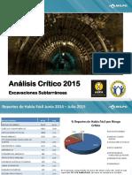 1. Análisis Crítico Excavaciones 2015