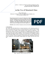 Advances in the Use of Structural Glass