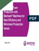 004_Efficient Foam Production