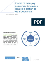 Definiciones de Manejo y Gestión de Cuencas Enfoques