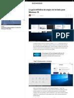 La Guía Definitiva de Atajos de Teclado Para Windows 10