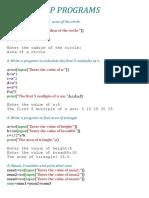 IP Programs