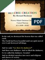 Reverse Creation 2