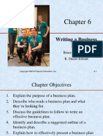 Chapter 6 Writing a Business Plan 2