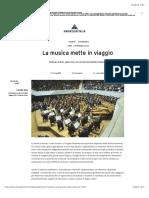 La Musica Mette in Viaggio - Manageritalia