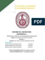 INFORME 1 LAB ELECTRONICA DE POTENCIA