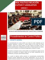 UNIDAD 01-Control Politico