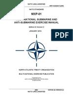 MXP-01 (E)(V2) - Sub Antisub Exer Manual (Janv2015)