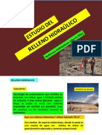 Relleno Hidráulico 2017-i
