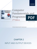 Chapter 2 Input and Output Devices (1)