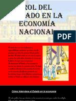 Rol Del Estado en La Economía Nacional