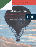 Alain Corbin - Historia del silencio.pdf