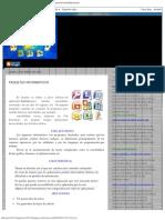 Paquetes informaticos