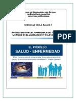 Manual de Actividades Ciencias de La Salud I