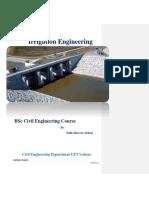 Irrigation Engineering by Salik Haroon Abbasi (Autosaved)