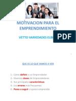 Motivación para el Emprendimiento