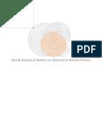 Junta de Castilla y León - Guía de Atención Al Paciente con Demencia en Atención Primaria