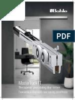 Sliding Door System MasterTrack FT