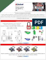 Sistemas de Bloqueo Mecánicos y Eléctricos