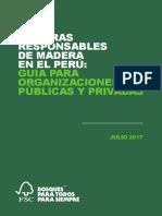 COMPRAS RESPONSABLES DE MADERA EN EL PERU  GUIA PARA ORGANIZACIONES PUBLICO PRIVADAS.pdf
