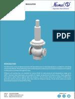 Downstream Direct Acting Pressure Regulator DM & DL Series