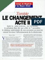 Tunisie, le changement, acte 2